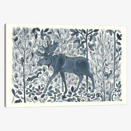 Forest Life VI Canvas Print #TMS14} by Miranda Thomas Art Print