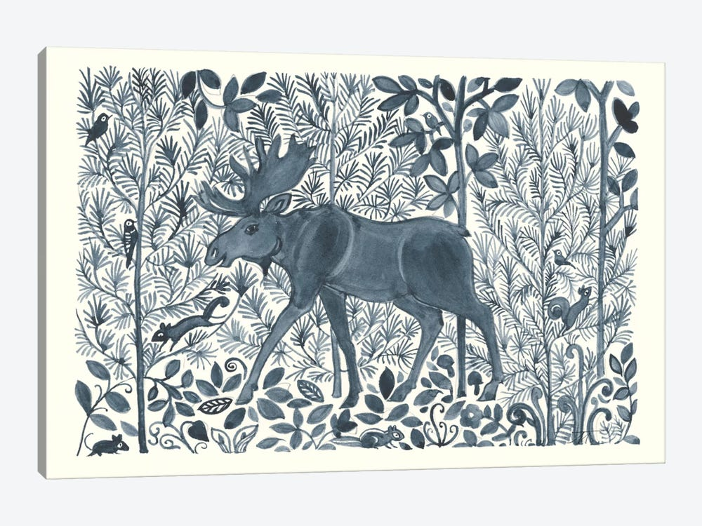 Forest Life VI 1-piece Art Print