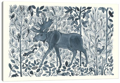Forest Life VI Canvas Art Print