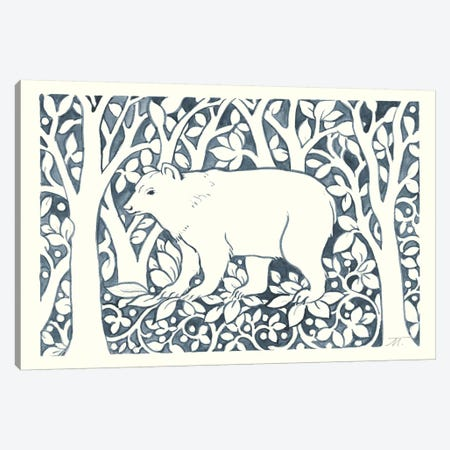 Forest Life VII Canvas Print #TMS15} by Miranda Thomas Canvas Print