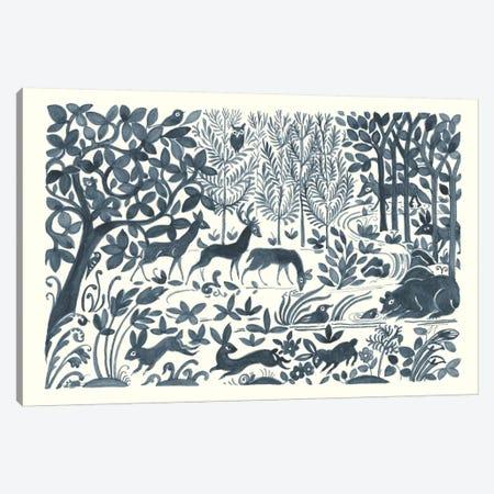 Forest Life II Canvas Print #TMS1} by Miranda Thomas Canvas Artwork