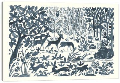 Forest Life II Canvas Art Print