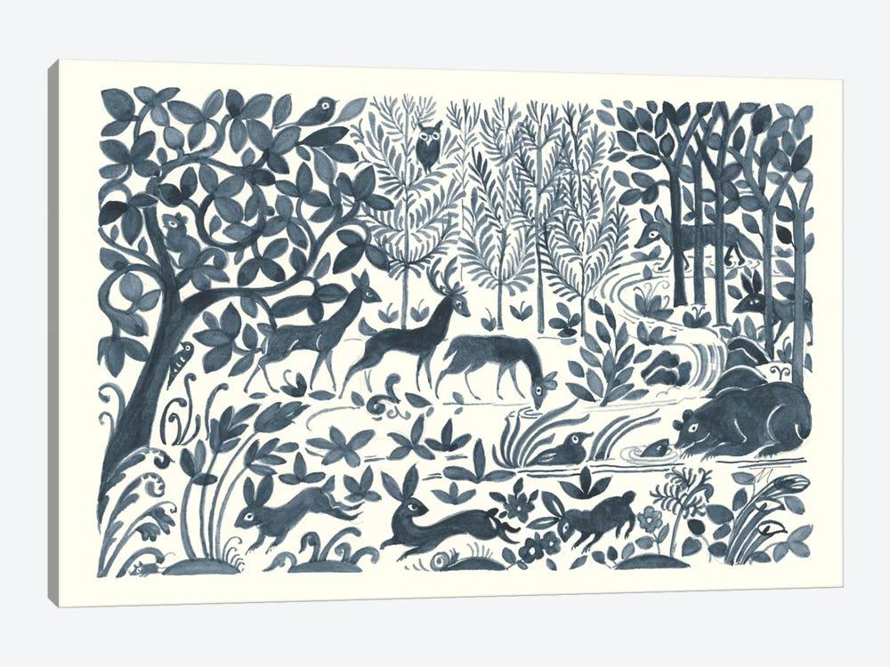 Forest Life II by Miranda Thomas 1-piece Canvas Artwork