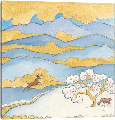 Riverside VI Canvas Art Print