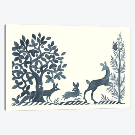Forest Life VIII Canvas Print #TMS2} by Miranda Thomas Canvas Artwork