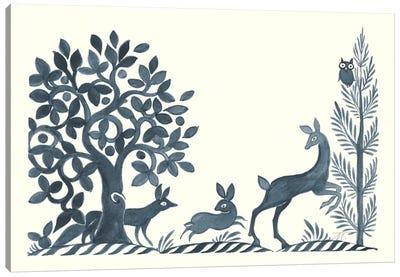 Forest Life VIII Canvas Art Print