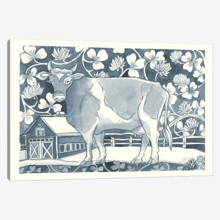 Farm Life II Canvas Print #TMS4} by Miranda Thomas Art Print