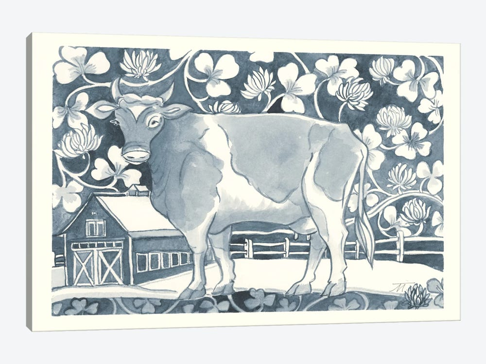 Farm Life II by Miranda Thomas 1-piece Canvas Art Print