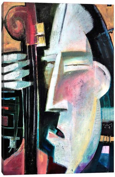 Bass Face Canvas Art Print