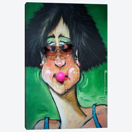 Bubblegum Canvas Print #TNG103} by Tim Nyberg Art Print