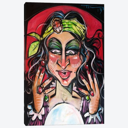 Fortune Teller Canvas Print #TNG119} by Tim Nyberg Canvas Wall Art