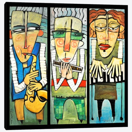Jazz Trio Canvas Print #TNG135} by Tim Nyberg Canvas Print