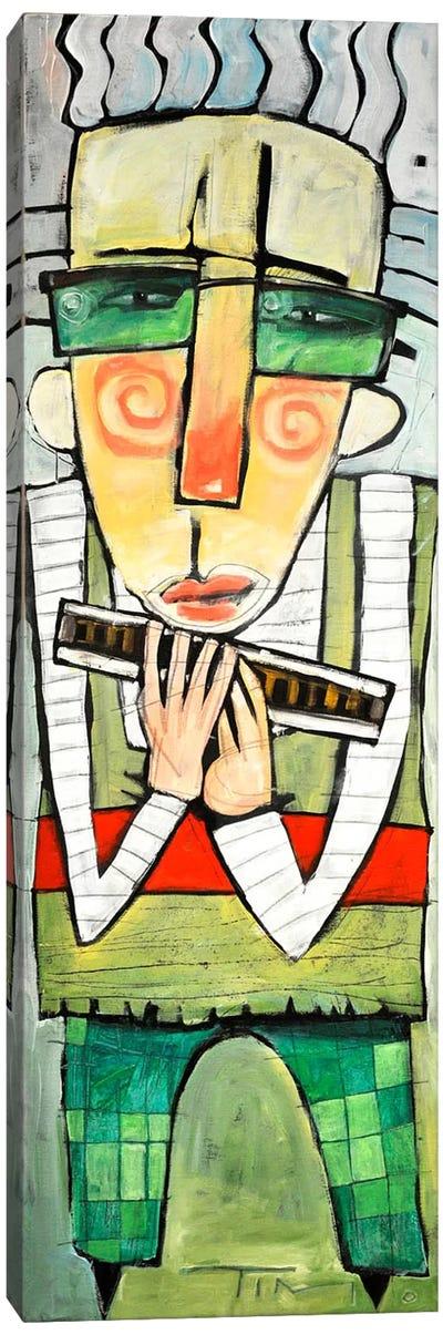 Harmonicat Canvas Art Print