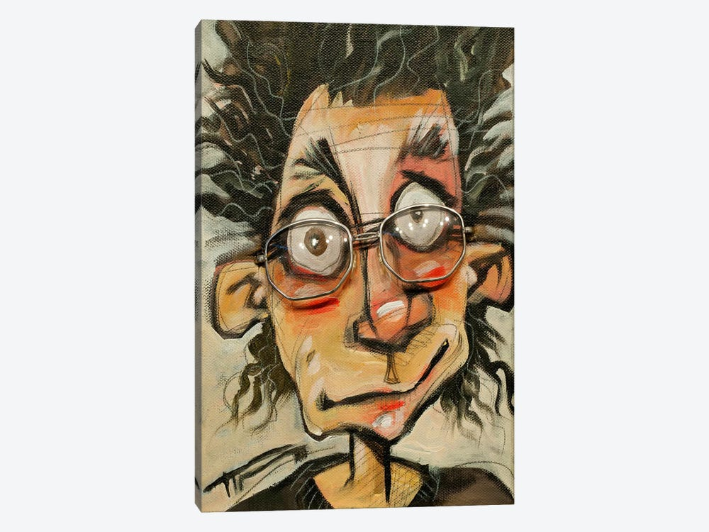 Rough Day Glasses by Tim Nyberg 1-piece Canvas Art Print