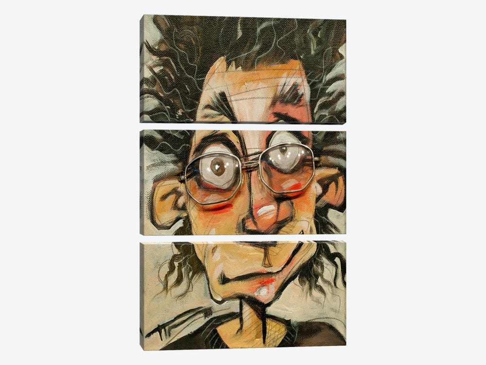 Rough Day Glasses by Tim Nyberg 3-piece Art Print