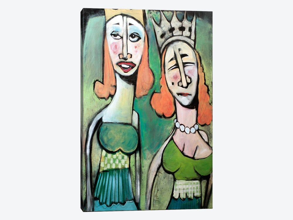 Sisters Going To The Ball by Tim Nyberg 1-piece Canvas Print