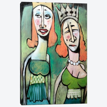 Sisters Going To The Ball Canvas Print #TNG168} by Tim Nyberg Art Print