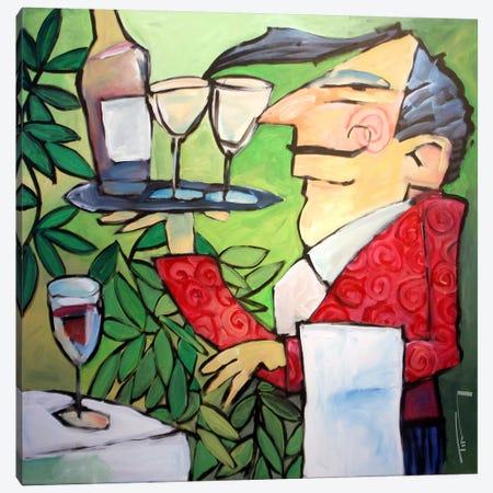 The Wine Steward Canvas Print #TNG182} by Tim Nyberg Canvas Print