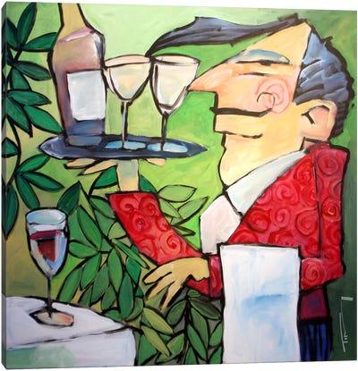 The Wine Steward Canvas Art Print