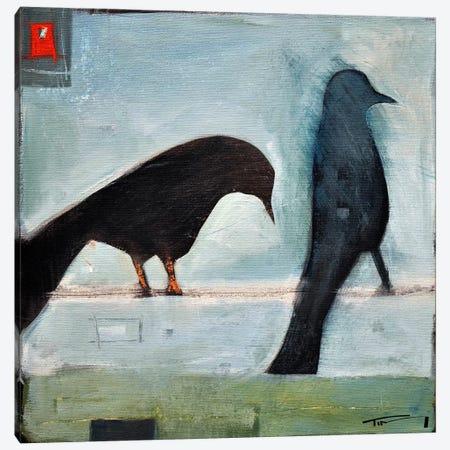 Birds Know 1 Canvas Print #TNG211} by Tim Nyberg Canvas Art Print