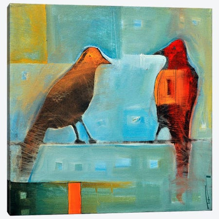 Birds Know 2 Canvas Print #TNG212} by Tim Nyberg Art Print