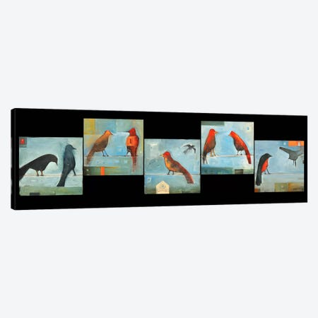 Birds Know Series Canvas Print #TNG216} by Tim Nyberg Canvas Wall Art