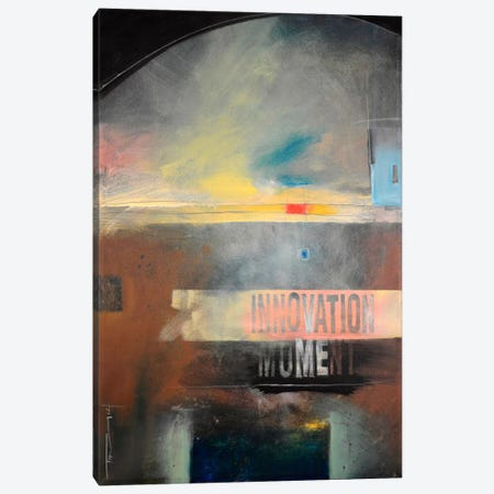 Innovation Moment Canvas Print #TNG21} by Tim Nyberg Art Print