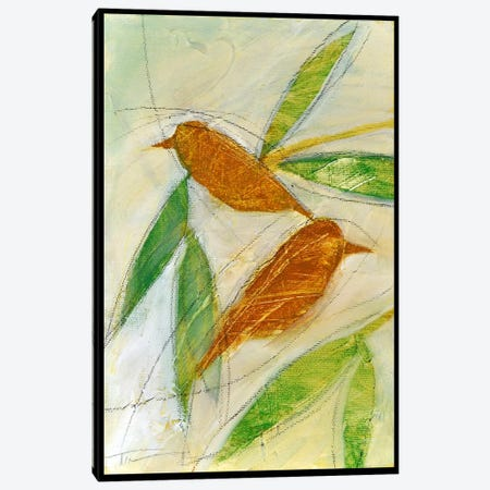Brown Birds At Rest Canvas Print #TNG221} by Tim Nyberg Canvas Art