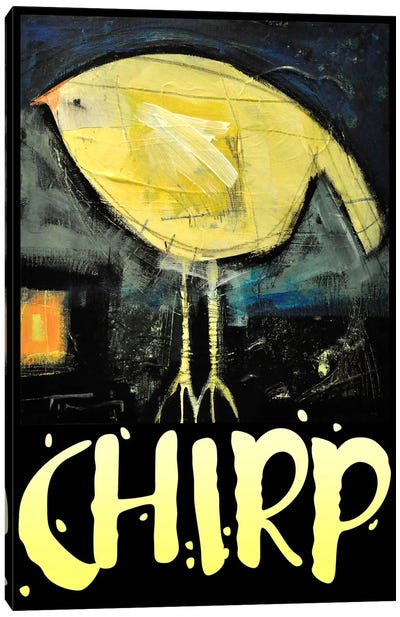 Chirp Poster Canvas Art Print