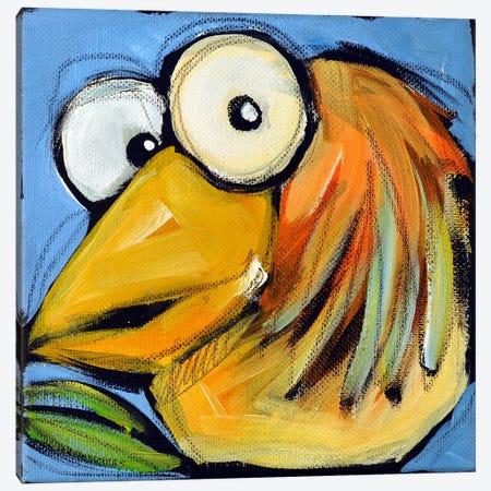 Gold Bird 2 Canvas Print #TNG237} by Tim Nyberg Canvas Wall Art