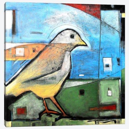 The Bird Canvas Print #TNG271} by Tim Nyberg Art Print