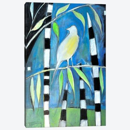 Yellow Bird Up High Canvas Print #TNG280} by Tim Nyberg Canvas Artwork