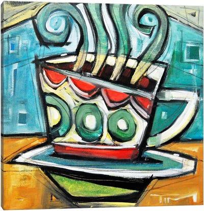 Coffee Cup 2 Canvas Art Print