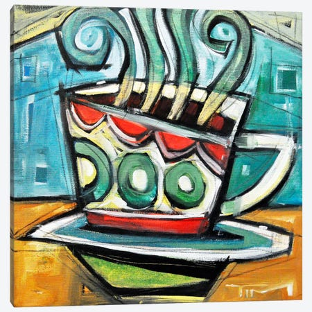 Coffee Cup 2 Canvas Print #TNG288} by Tim Nyberg Canvas Wall Art