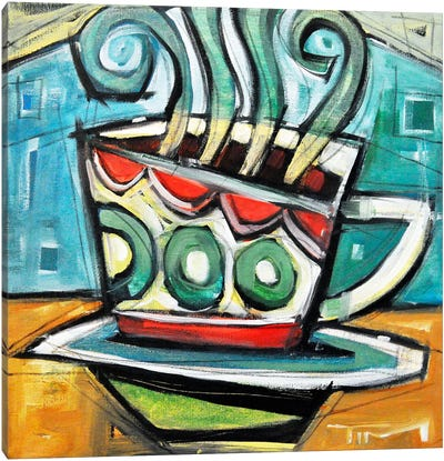 Coffee Cup 2 Canvas Art Print