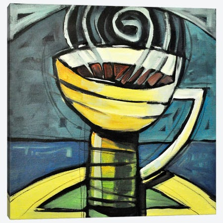 Coffee Cup 3 Canvas Print #TNG289} by Tim Nyberg Canvas Artwork