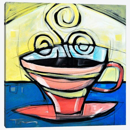 Coffee Cup 4 Canvas Print #TNG290} by Tim Nyberg Canvas Art Print