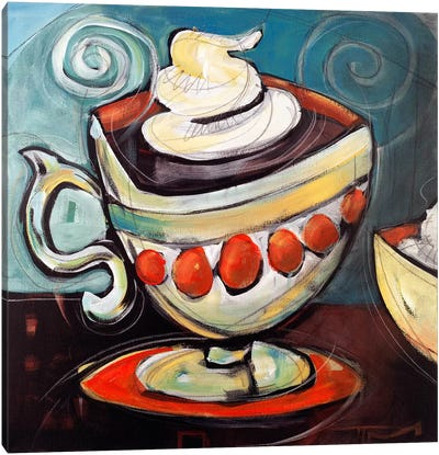 Cup Of Mocha Canvas Art Print