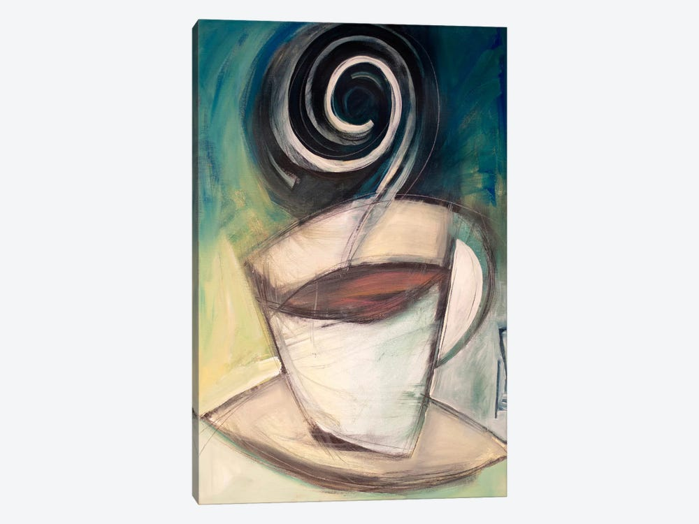 First Cup Of The Day by Tim Nyberg 1-piece Canvas Art Print