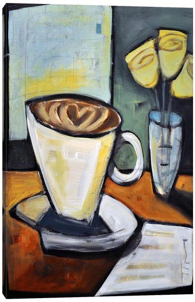 Java Love Canvas Art Print