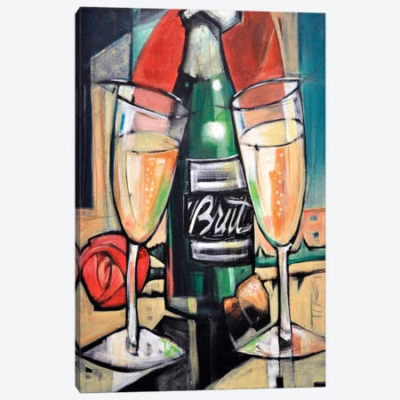 Celebrate Bubbly Canvas Print #TNG2} by Tim Nyberg Canvas Wall Art
