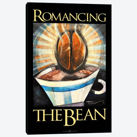 Romancing The Bean Poster Canvas Print #TNG300} by Tim Nyberg Canvas Print