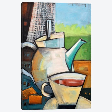 Tea Time Canvas Print #TNG303} by Tim Nyberg Canvas Print