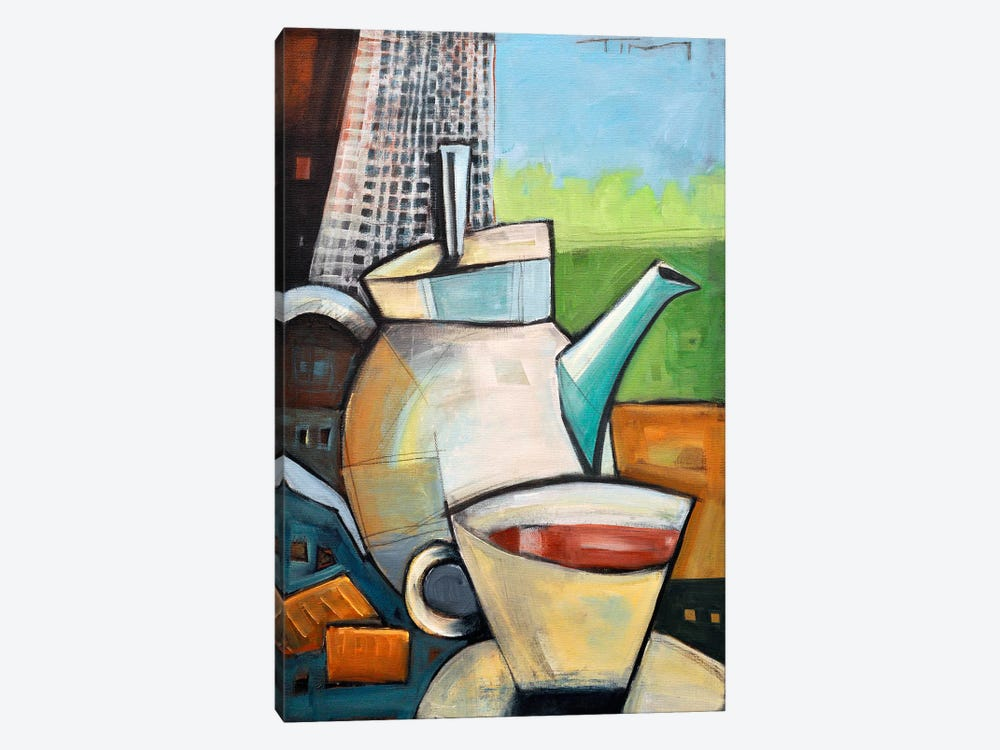 Tea Time by Tim Nyberg 1-piece Canvas Print