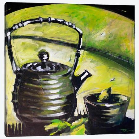 Green Tea Canvas Print #TNG304} by Tim Nyberg Canvas Art