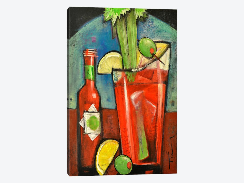 Bloody Mary by Tim Nyberg 1-piece Canvas Art Print