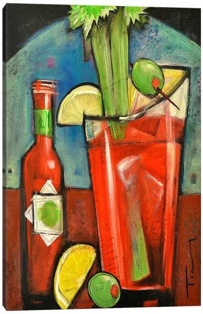 Bloody Mary Canvas Art Print
