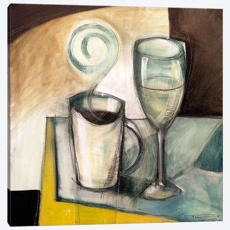 Coffee Wine Canvas Print #TNG309} by Tim Nyberg Canvas Art Print