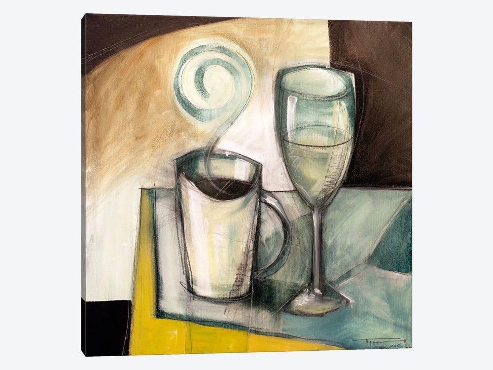 Coffee Wine by Tim Nyberg 1-piece Canvas Art Print