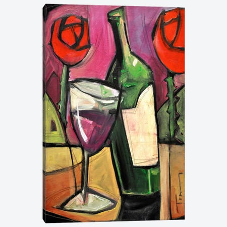 Days Of Wine And Roses Canvas Print #TNG311} by Tim Nyberg Canvas Artwork